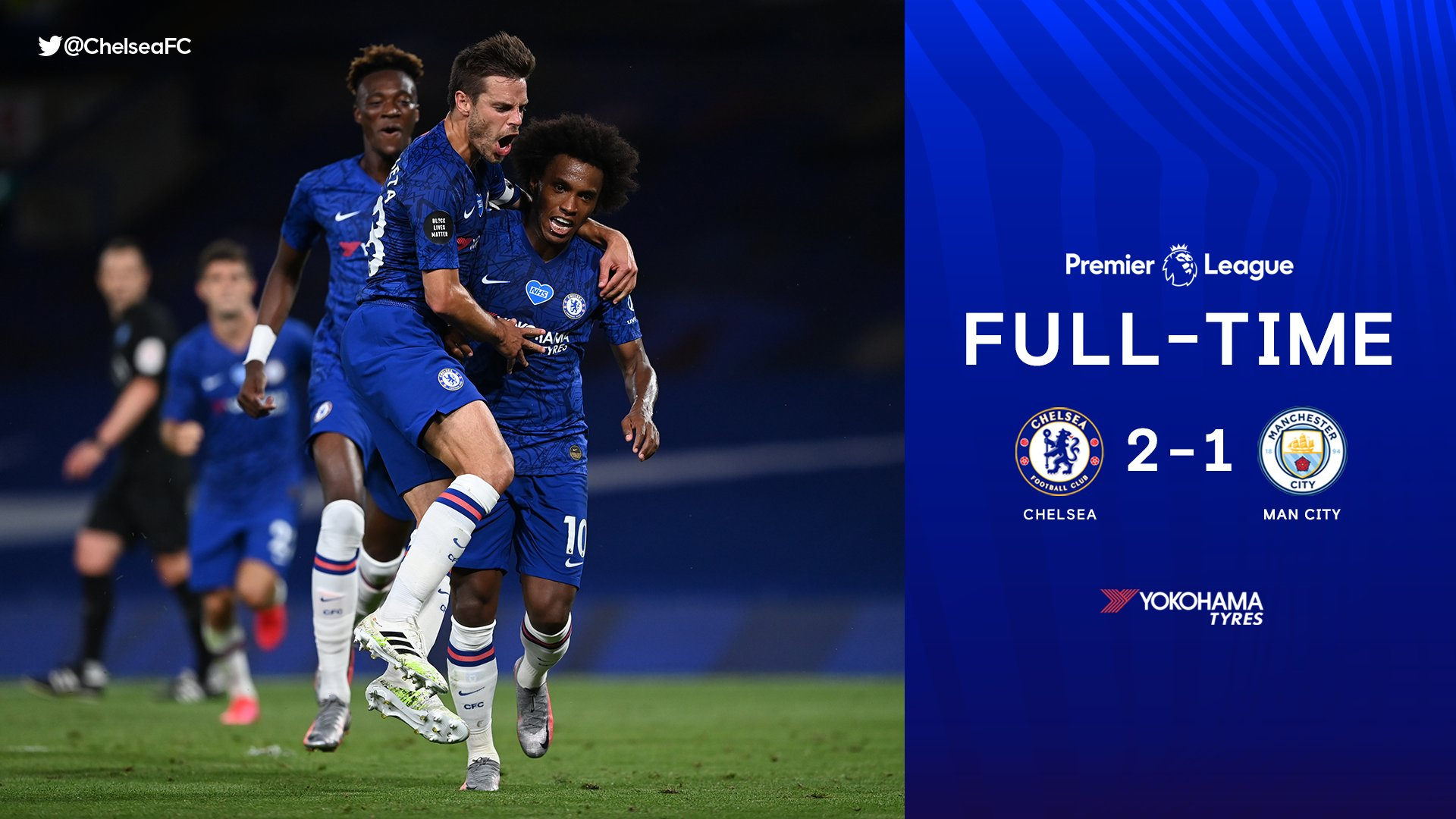 Chelsea 2–1 Man City Highlight Mp4 Download