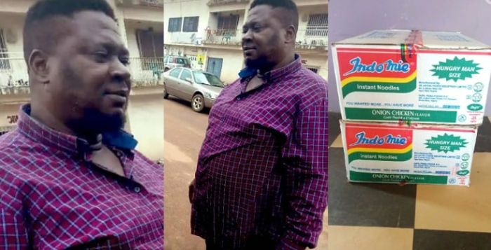 Nigerian Man Returns N1.8Million Found Inside A Carton He Bought (Photos)