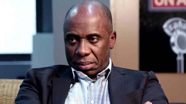 ''I'm Doing What They Call Siddon Look'' - Rotimi Amaechi Reacts To APC Crisis