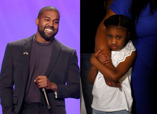 Kanye West Donates $2million, Sets Up College Fund For George Floyd's Daughter