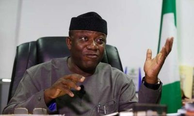 Governor Kayode Fayemi Suspended By APC