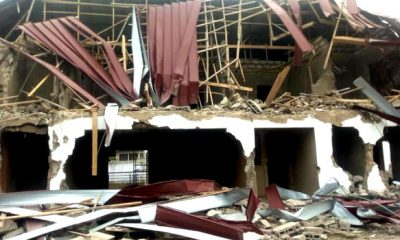 Nigerian Embassy Staff Quarters In Ghana Demolished By Armed Men 8