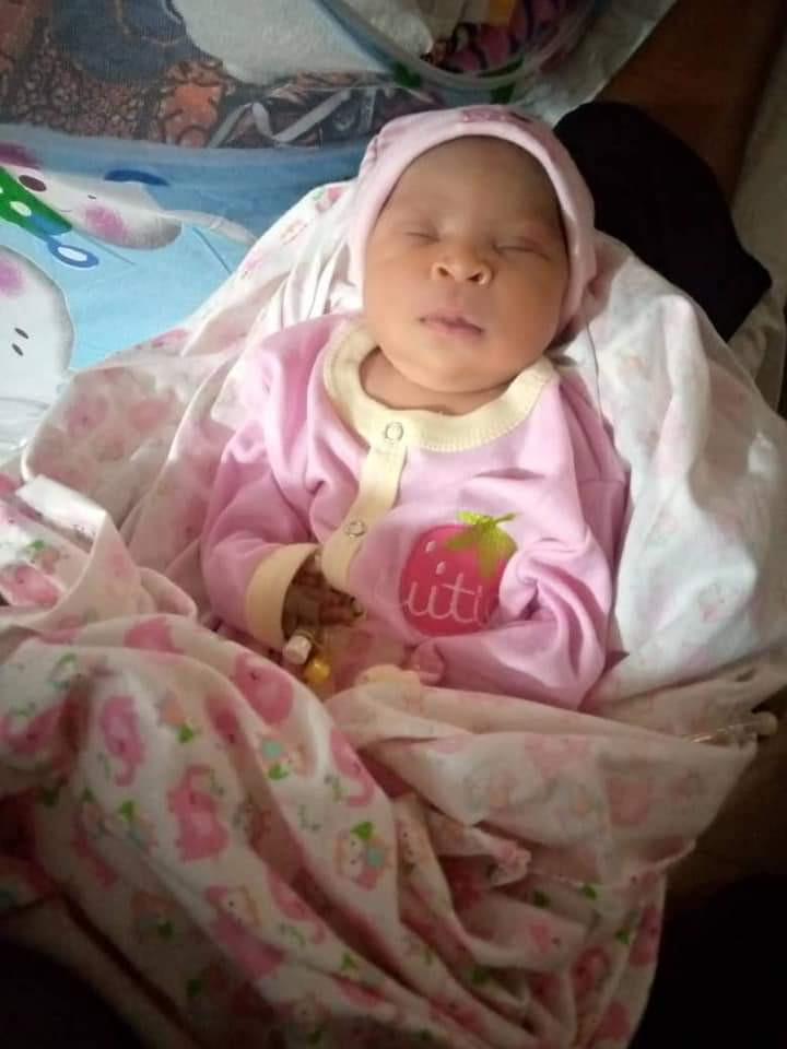 Nigerian Lady Gives Birth To Cute Baby Girl After 22 Years Of Marriage (Photo)