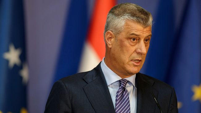 President Thaci Of Kosovo Charged With War Crimes