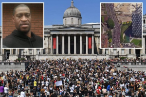 George Floyd's Death: Thousands Join UK Protest 3