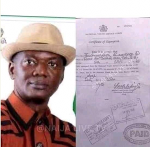 Lawrence Oborawharievwo Ewhrudjakpo NYSC Certificate: DSS Confirms Alteration 3