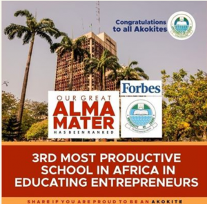 UNILAG Ranked 3rd Most Productive School In Africa In Educating Entrepreneurs 4