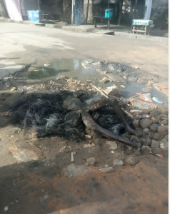 Armed Robber Burnt To Death In Calabar This Morning 8