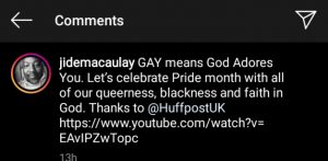 """Gay Means """"God Adores You"""" - Nigerian Gay Reverend Jide Macualay"""
