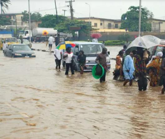 Teenage Girl Swept Away By Flood In Lagos