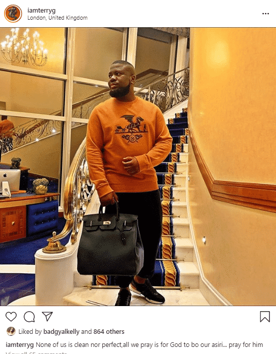"""None Of Us Is Clean..Pray For Hushpuppi"" – Terry G Tells Nigerians"