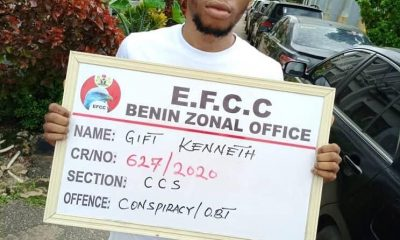 UNIPORT Student, His Mother & Girlfriend Arrested By EFCC  For Suspected Fraud (Photos) 4