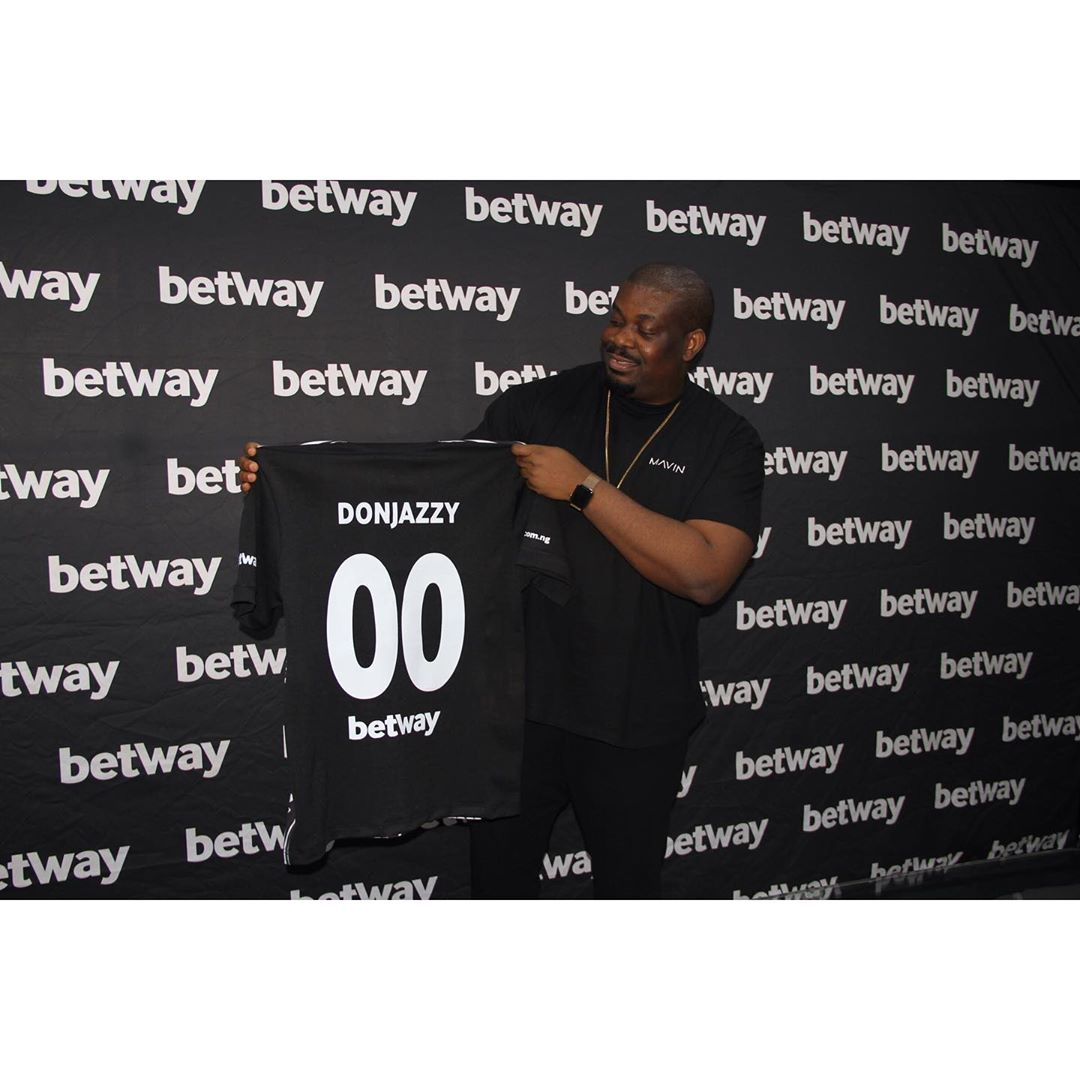 Don Jazzy And Ebuka Becomes Betway Ambassadors (Photos)