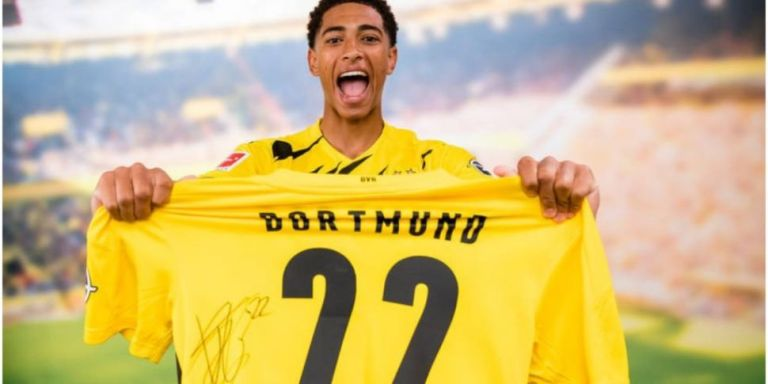 Jude Bellingham Now World's Most Expensive 17-year-old After Joining Borussia Dortmund For £25million