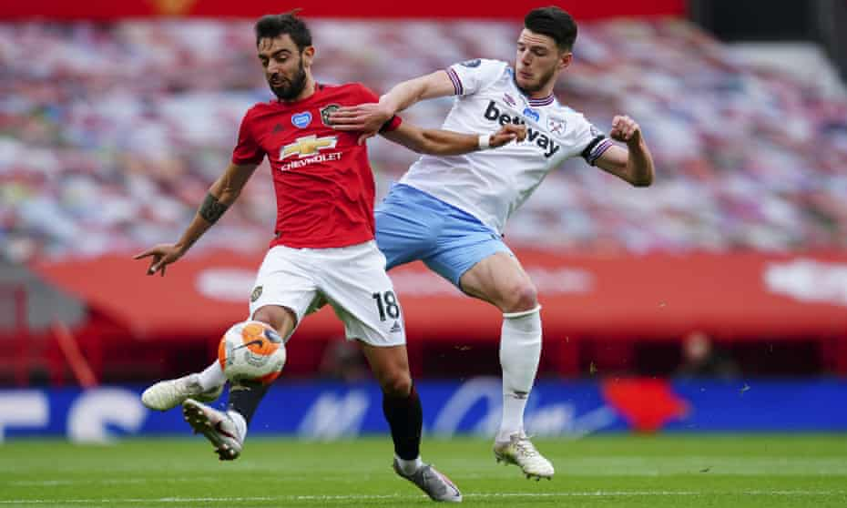 LIVE STREAM: Manchester United vs West Ham - EPL 22/7/20