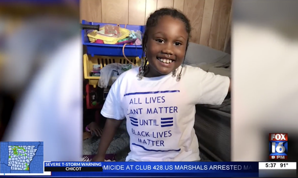 6-Year-Old Girl Told To Leave Arkansas Daycare After Wearing 'Black Lives Matter' T-shirt