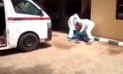 Man Fights NCDC Officials Who Tried Taking Him To Isolation Centre (Video) 5