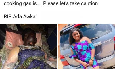 Young Lady Dies After Getting Burnt While Answering A Phone Call Beside A Gas Cannister (Graphic Photos) 3