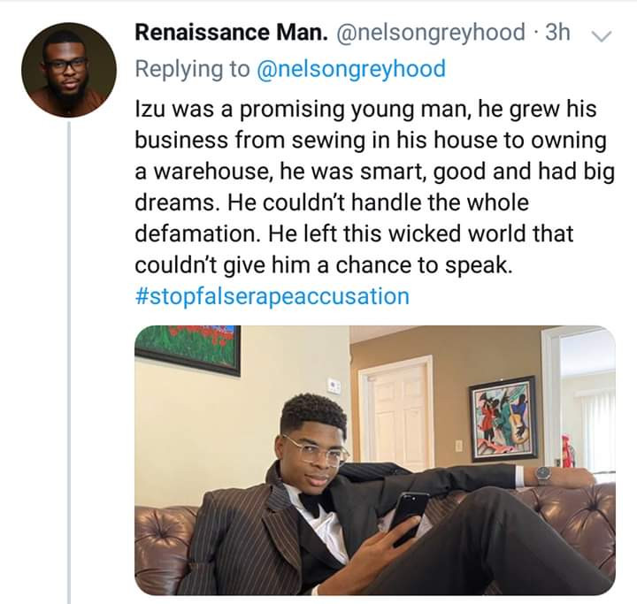 Young Nigerian Man Commits Suicide After Being Accused Of Rape