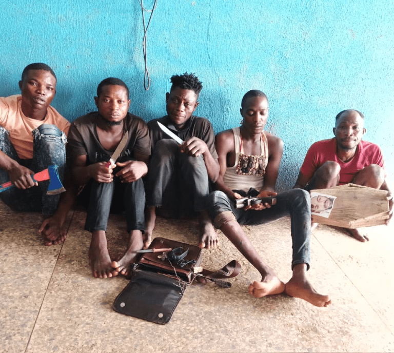 Alleged Robbery: Herbalist Arrested Alongside Four Others In Ogun (Photo)