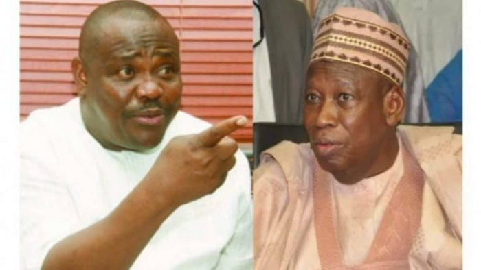 A Man Who Pockets Dollars From Contractors In His Babariga Wants To Isolate Me - Wike Shades Ganduje (Video)