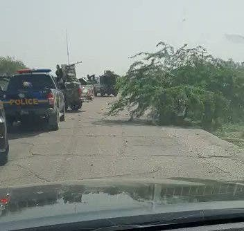 Borno Governor, Zulum's Convoy Attacked By Boko Haram Members In Borno (Video)