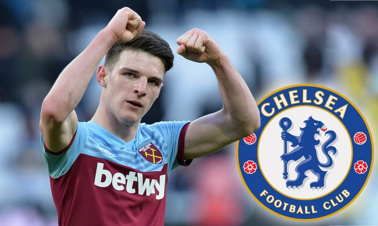 Chelsea To Offer West Ham Three Players In Exchange For Declan Rice