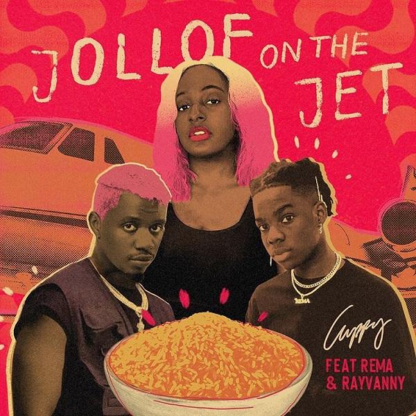 DJ Cuppy Ft Rema, Rayvanny Jollof On The Jet Mp3 Download