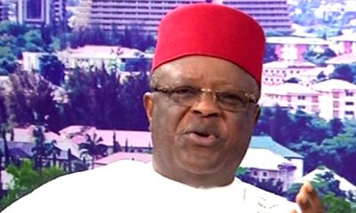 Ebonyi State Governor, David Umahi Tests Positive For Coronavirus