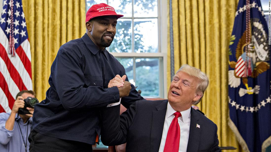 President Trump Reacts To Kanye West's Decision To Run For Presidency