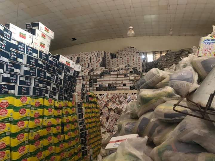 Ebonyi State Govt Begins Distribution Of Coronavirus Palliatives 13