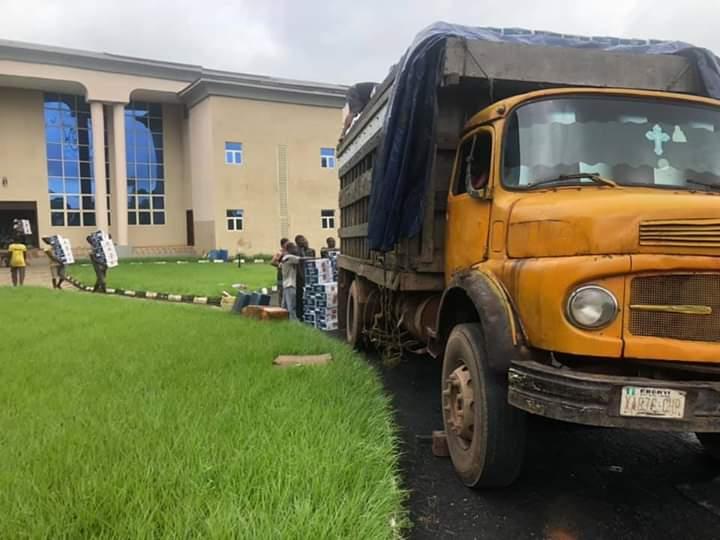 Ebonyi State Govt Begins Distribution Of Coronavirus Palliatives