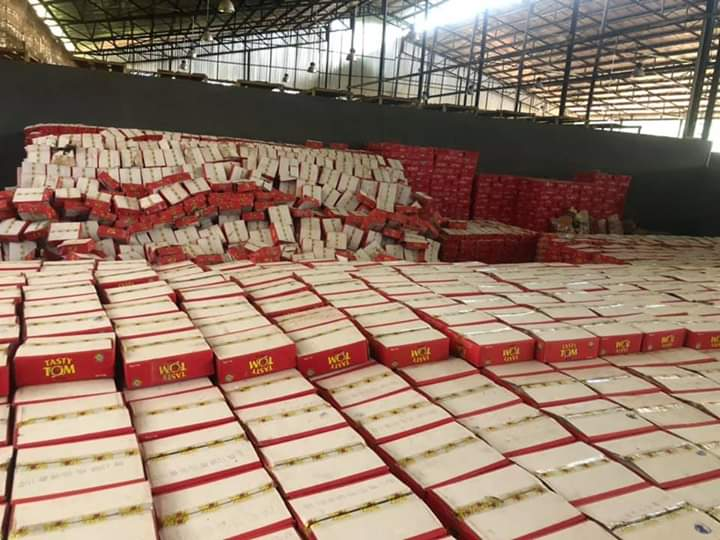 Ebonyi State Govt Begins Distribution Of Coronavirus Palliatives 14