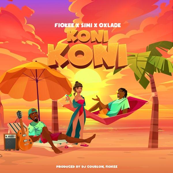 Fiokee Ft Simi, Oxlade – Koni Koni Mp3 Download