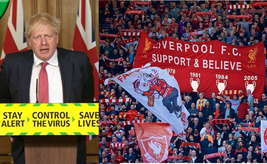 Football Fans Will Be Allowed Back To Stadium By October - UK PM, Boris Johnson