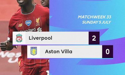 Liverpool 2 – 0 Aston Villa Highlight Mp4 Download