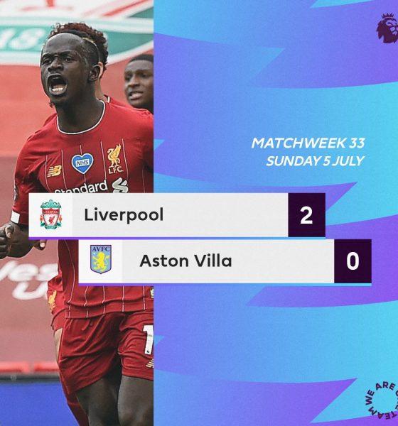 Liverpool 2 – 0 Aston Villa Highlight Mp4 Download