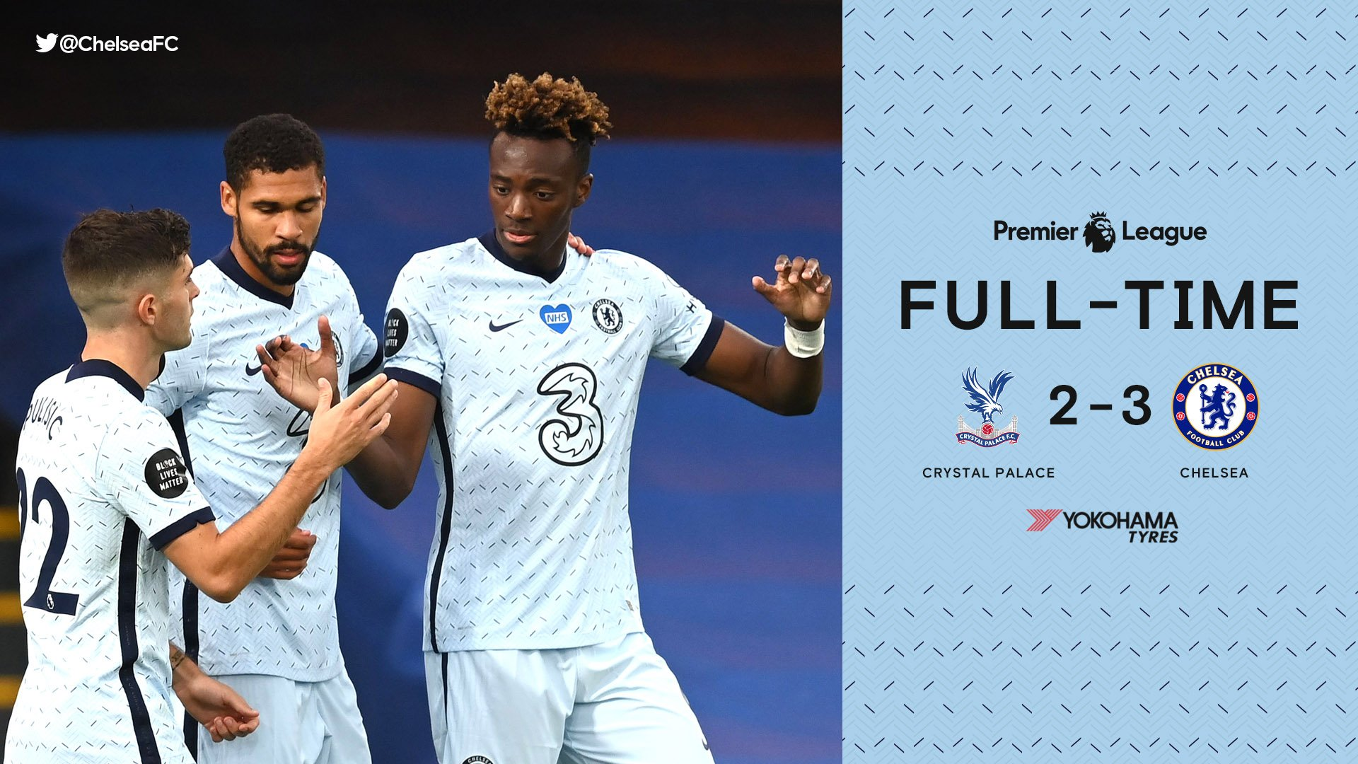 Crystal Palace 2 – 3 Chelsea Premier League Highlight Mp4 Download
