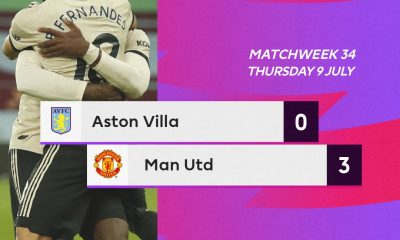 Aston Villa 0 – 3 Man United Highlight Mp4 Download