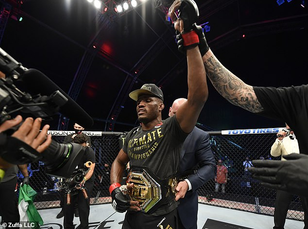 Nigerian UFC Star, Kamaru Usman Retains Welterweight Title After Beating Jorge Masvidal (Photos) 3