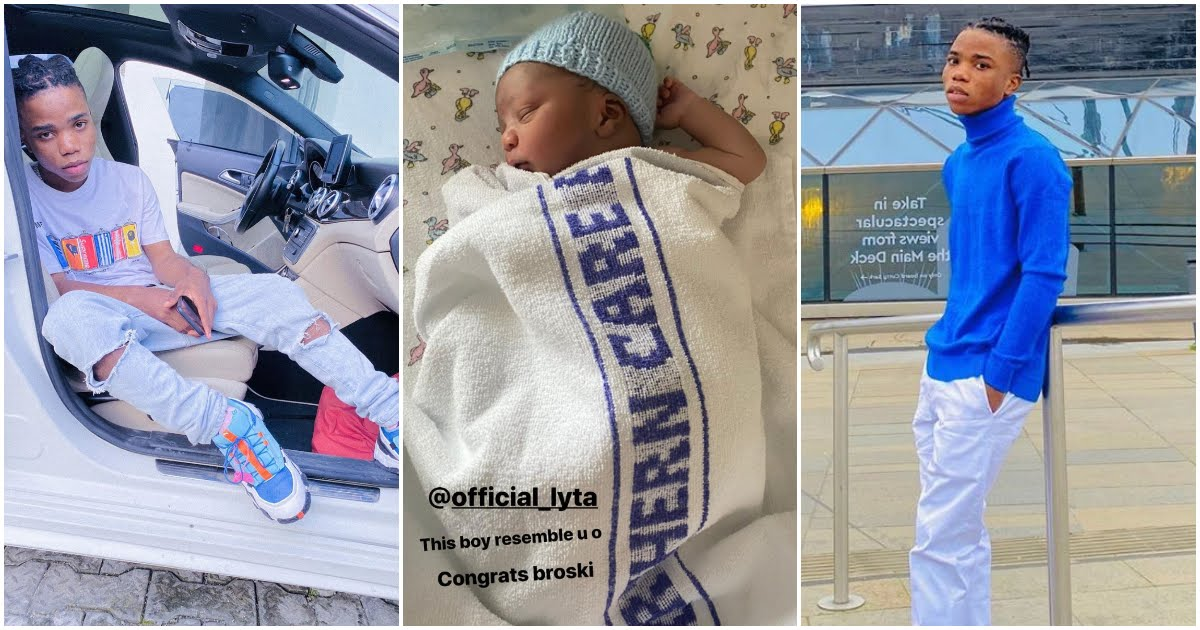 22-Year-Old Singer, Lyta Welcomes Baby Boy With His Girlfriend