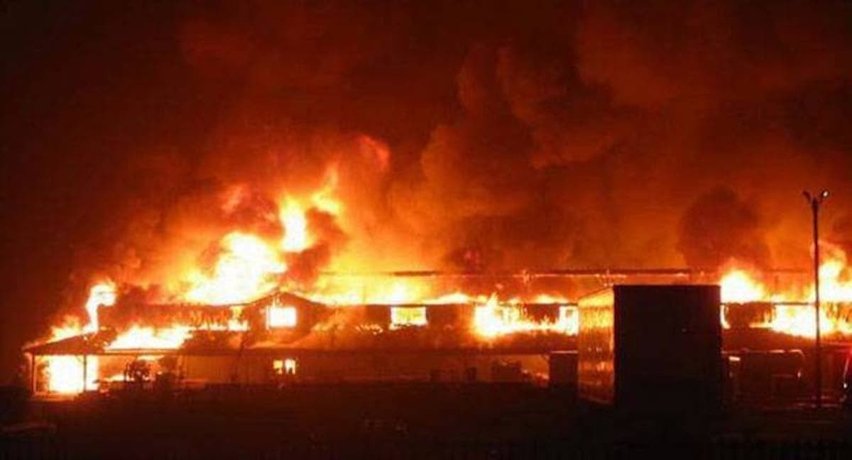 Ajao Market Gutted By Fire, Properties Worth Millions Of Naira Destroyed