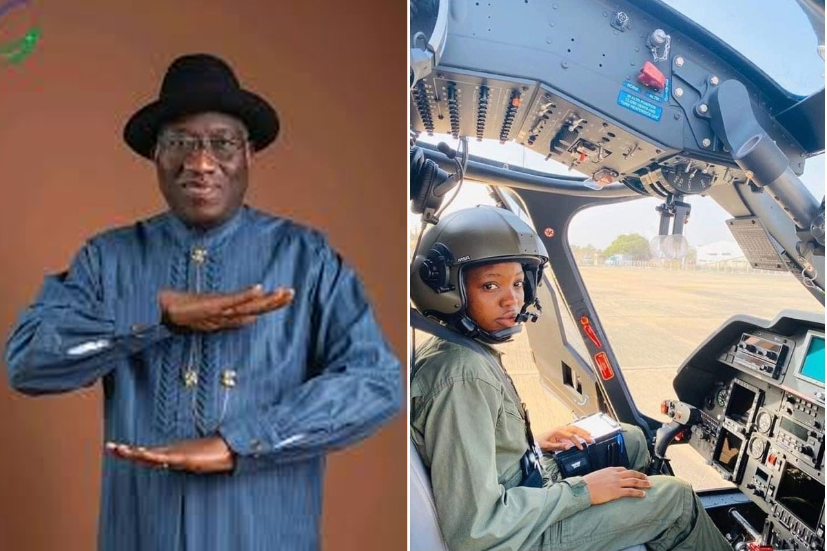 Goodluck Jonathan Pens Tribute To Arotile - Nigeria's First Female Fighter Pilot