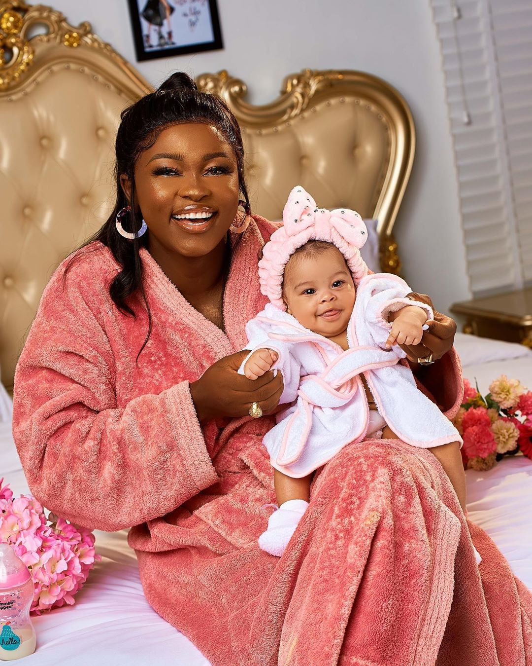#BBNaija: See Photos Of Ka3na And Her Daughter