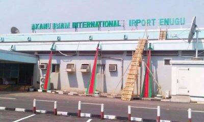 Akanu Ibiam International Airport, Enugu To Reopen On Sunday 4