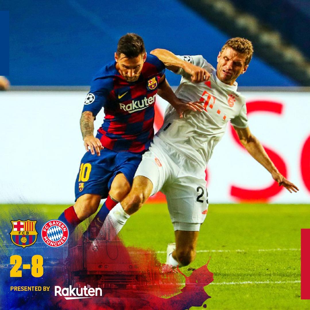 Barcelona 2-8 Bayern Munich Highlight MP4 Download