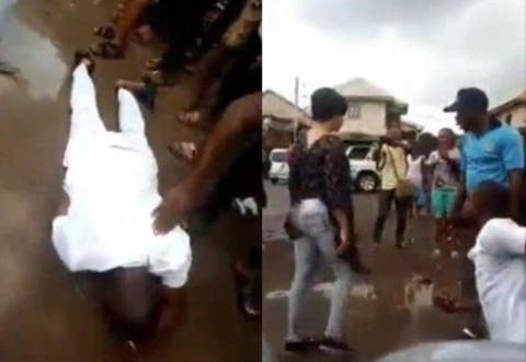 Man Cries Uncontrollably, Rolls On The Floor After His Girlfriend Refused His Marriage Proposal (Video)