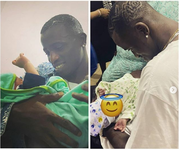 Aloma DMW Welcomes Baby Boy With His Girlfriend (Photo)
