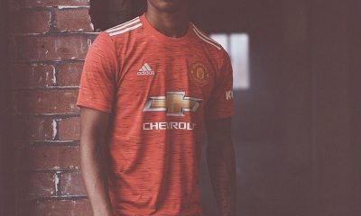 Manchester United Unveils Jersey For 2020/21 Season (Photos) 10