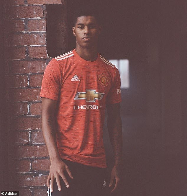 Manchester United Unveils Jersey For 2020/21 Season (Photos)